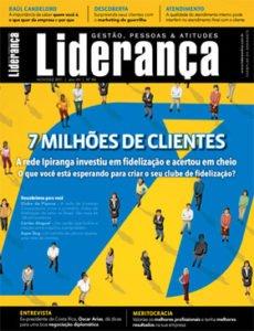 Capa Revista Liderança